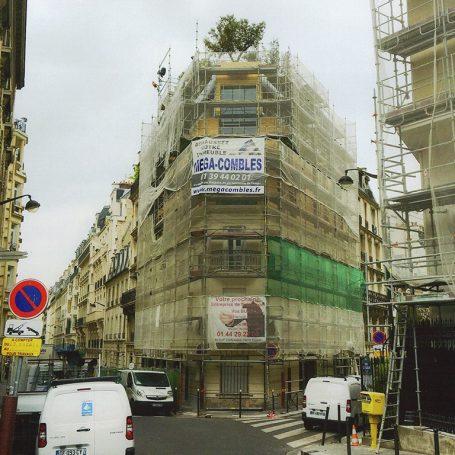 surélévation immeuble Mégacombles